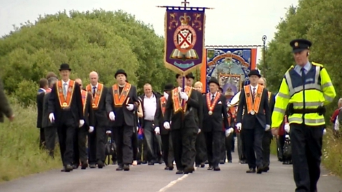 Orange parade in Donegal attracted 7,000 ahead of 12 July