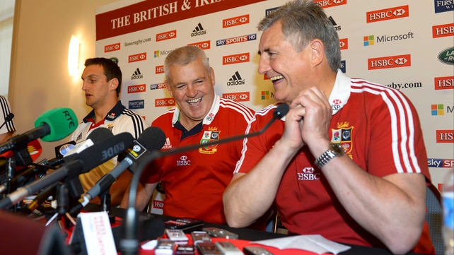 Warren Gatland would relish another chance to lead the Lions