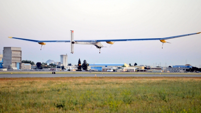 Solar Impulse began its journey from San Francisco in early May