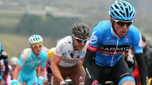 Dan Martin (front right) has been named on Ireland's team for the UCI Road World Championships