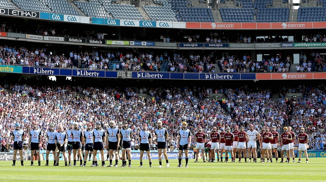 Dublin took the Bob O'Keeffe Cup off Galway