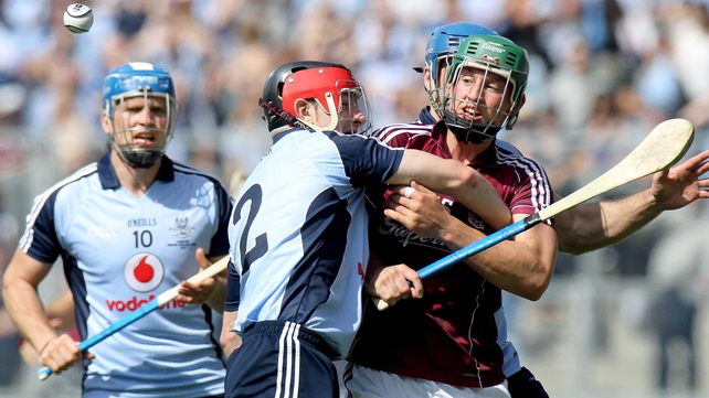 Galway native Niall Corcoran was one of the many heroes for Dublin in their historic win
