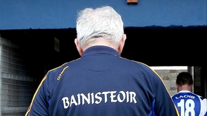 Mick O'Dwyer makes his way down the tunnel as Clare manager one last time