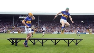 Noel McGrath clears the bench with plenty to spare ahead of Kilkenny v Tipperary