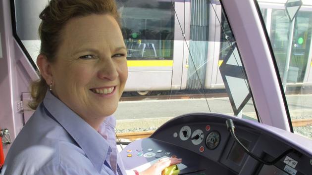 Eileen Carolan, Luas Driver