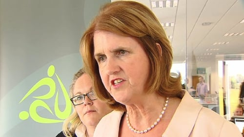 Joan Burton said those who fail to engage with the process would face cuts in their payments