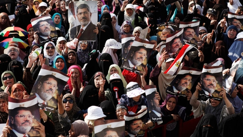 Supporters of Mohammed Mursi are set to continue protests over his removal from office