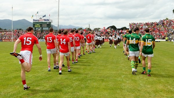 Cork and Kerry face off in the Munster final at Fitzgerald Stadium