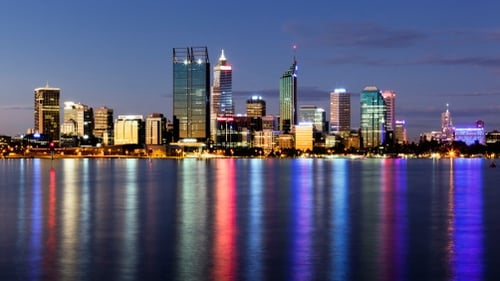 The western city of Perth has become a popular destination for Irish emigrants