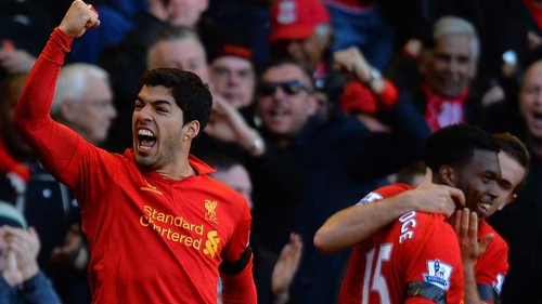 Luis Suarez's future continues to be up in the air