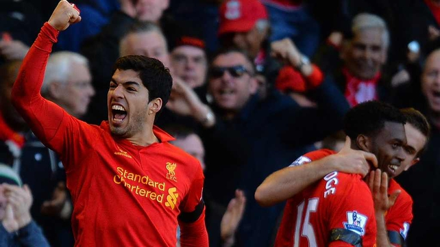 Liverpool striker Luiz Suarez is keen to play Champions League football