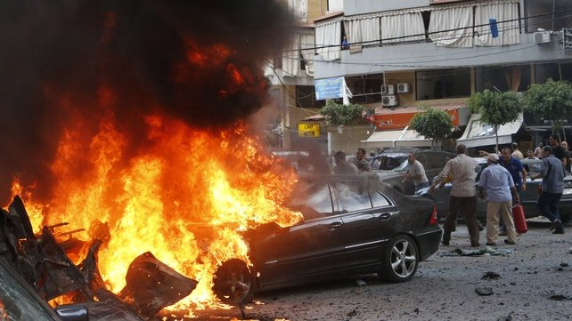 Tensions running high in Lebanon after the intervention of Hezbollah in Syria's civil war