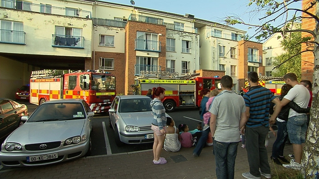 Up to ten units of the fire brigade and ambulance services attended the scene