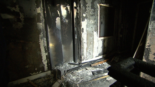 Gardaí are investigating the cause of the blaze
