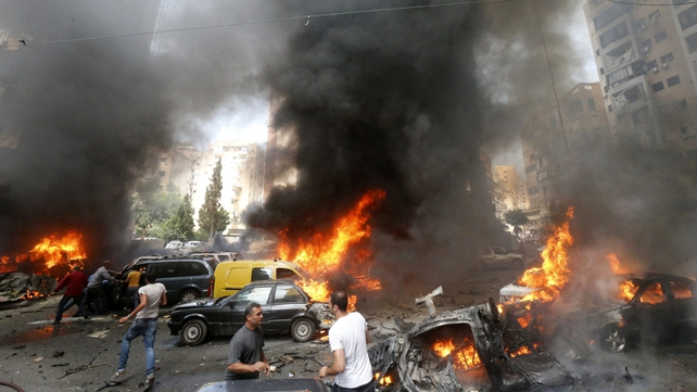 Attack is second strike to hit Shia southern Beirut this year