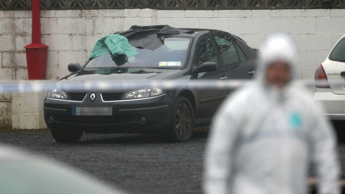Peter Butterly was shot dead in a car park in Gormanston, Co Meath
