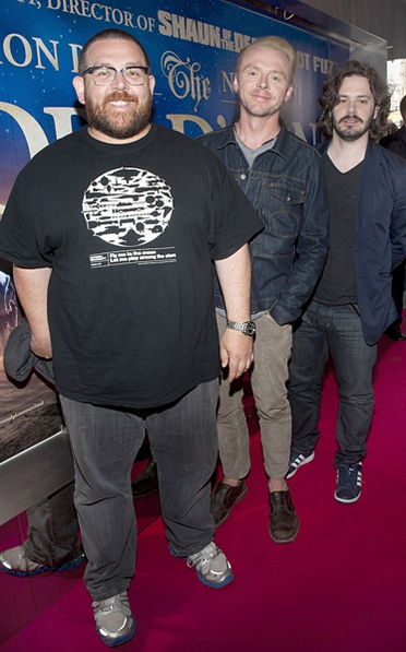 Edgar Wright and stars Simon Pegg and Nick Frost were in Dublin on Monday evening to meet fans at the Light House Cinema