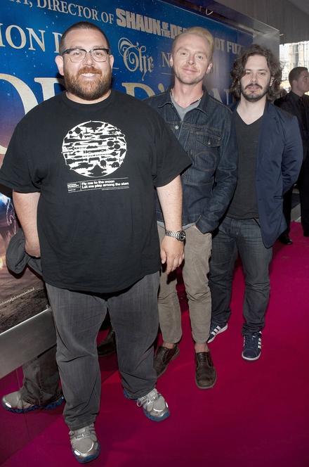 Nick Frost, Simon Pegg, Edgar Wright