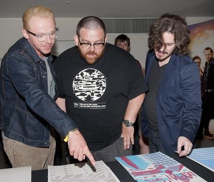 Simon Pegg, Nick Frost, Edgar Wright