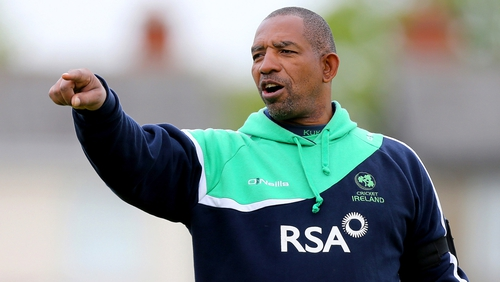 Ireland coach Phil Simmons
