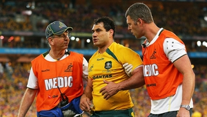 Australia's George Smith was concussed against the Lions in 2013 but returned to the field of play a few minutes later