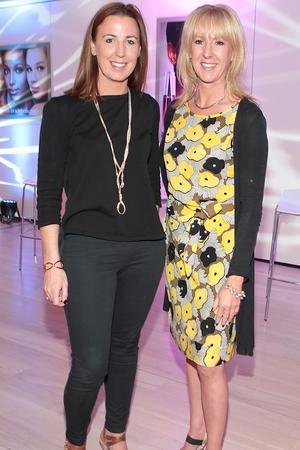 Clodagh Edwards and Caroline Breslin
