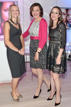 Julie McManus, Vivienne Parry and Stephanie Reif