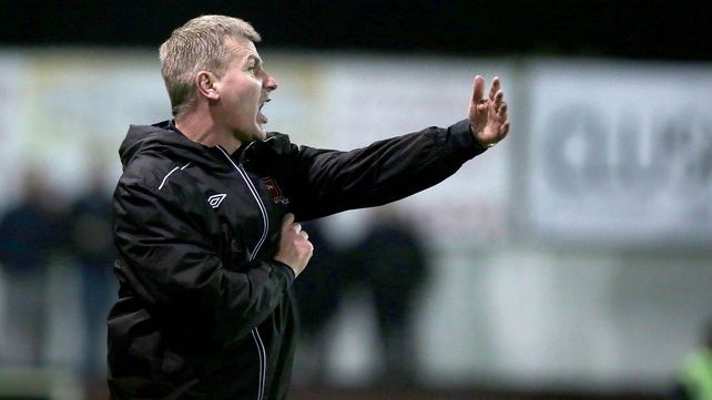 Stephen Kenny has led Dundalk to fourth in the table