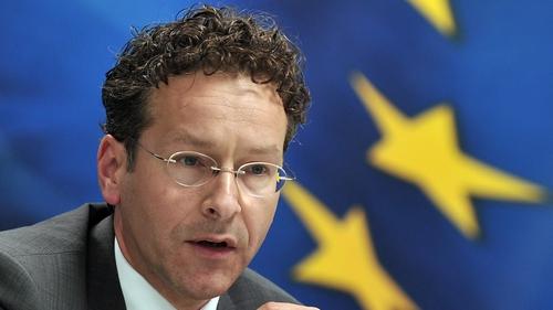 Jeroen Dijsselbloem said: 'We will intervene as a last, very last resort'