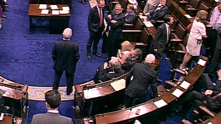 Incident in Dáil