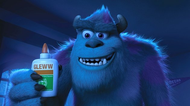Sulley takes a sip