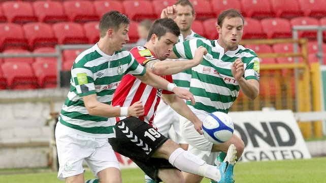 Shamrock Rovers were too good for Derry City at the weekend