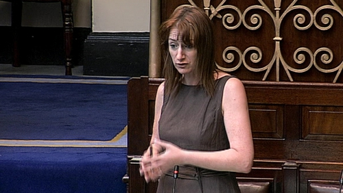 Clare Daly's motion will be debated in private members business
