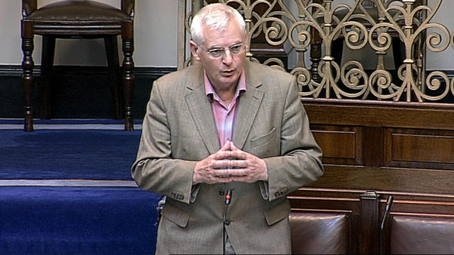 Joe Higgins said he would want a citizens or people's banking inquiry