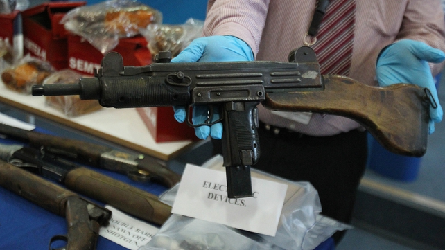 The find indicates not all of the Provisional IRA's guns and bombs have been decommissioned