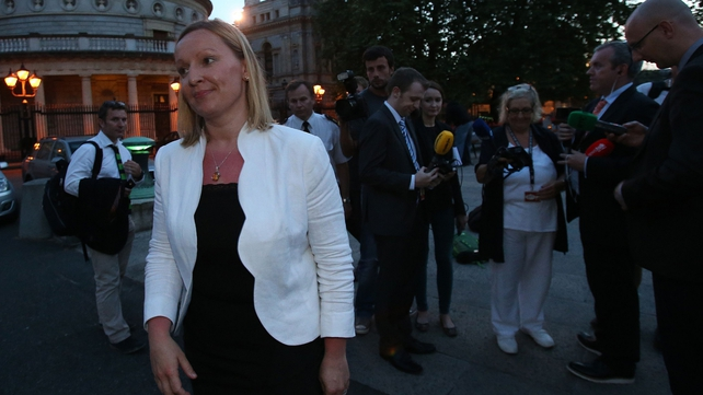 Lucinda Creighton has been expelled from the Fine Gael parliamentary party