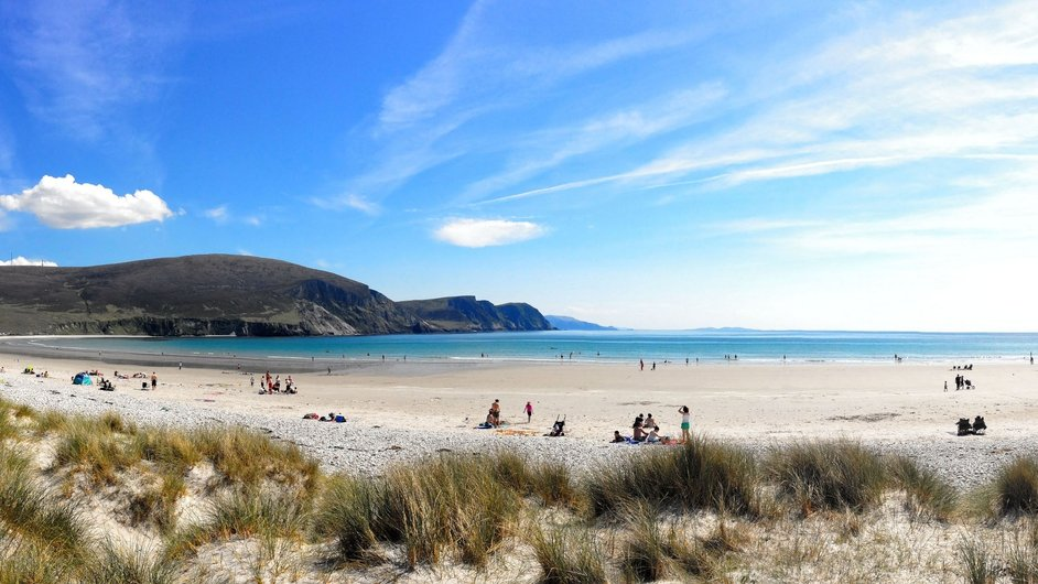 Cancel everything we're heading to the beach. Achill Island. Photo: Ronan Courell