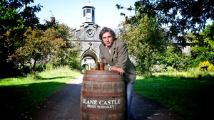 Henry Mountcharles and his son Alex (pictured) have been developing Slane Castle Whiskey since 2009