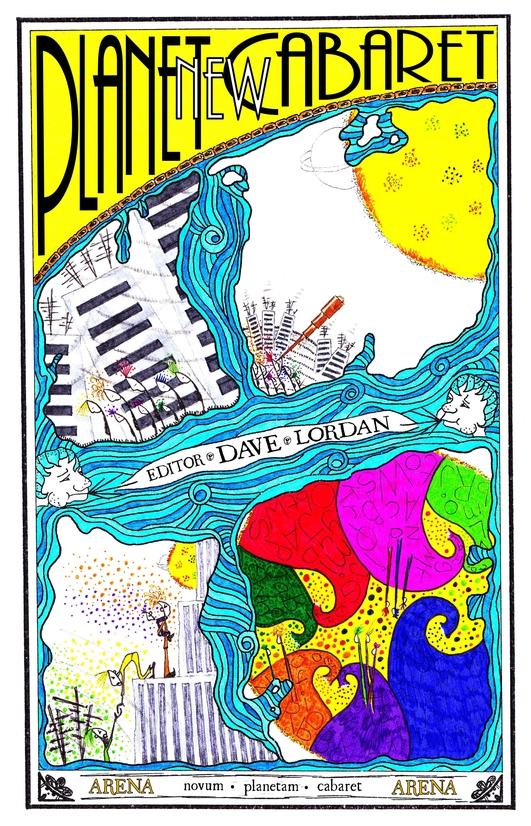New Planet Cabaret - Cover Design Winner