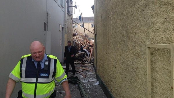 Several buildings were damaged in the explosion (Pic: Tom Randles)
