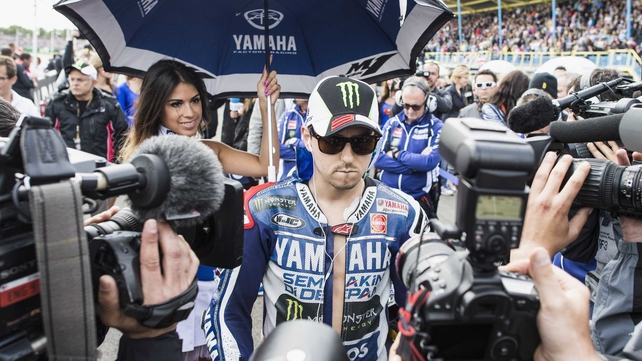 Jorge Lorenzo: 'I prefer to focus on surgery to fix the plate that was unfortunately bent during the crash'
