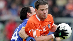 Eugene McVerry bagged three goals for Armagh