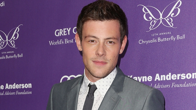 Cory Monteith - died last weekend