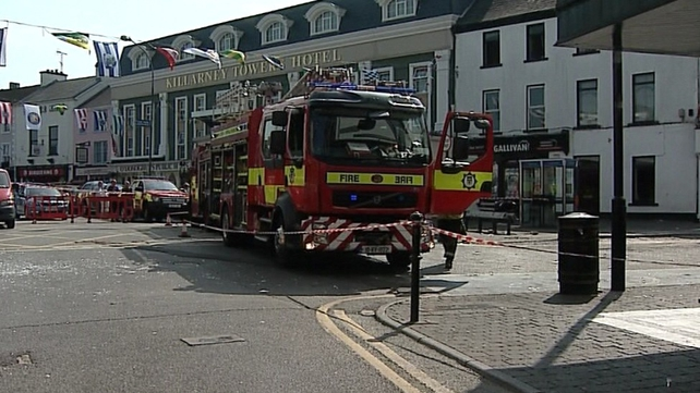 The explosion is believed to have been caused by a gas leak