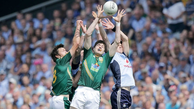 Dublin successfully defended their Leinster title against Meath