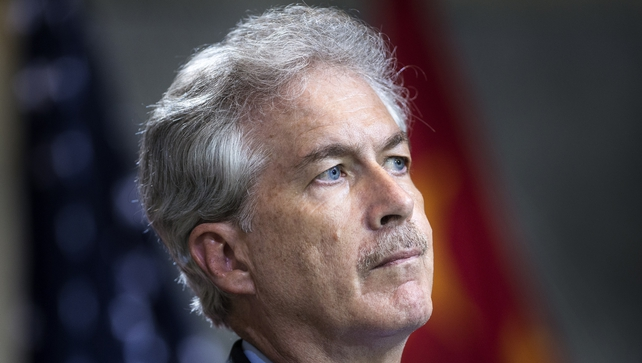 US Deputy Secretary of State William Burns is holding high-level talks in Cairo