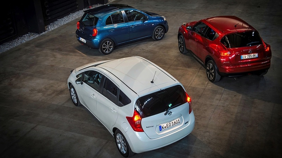 Nissan dealers now have a cosy supermini family