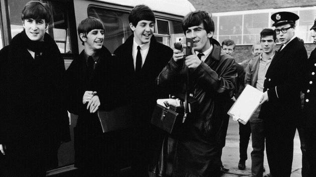 The Beatles on show again