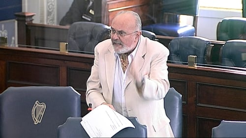 "Senator David Norris has been accused of using ""sexist and inappropriate language"""