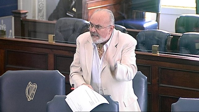 Senator David Norris is under fire after he was accused of making sexist and inappropriate comments about Fine Gael TD Regina Doherty